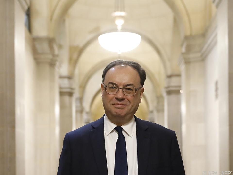 Notenbankchef Andrew Bailey