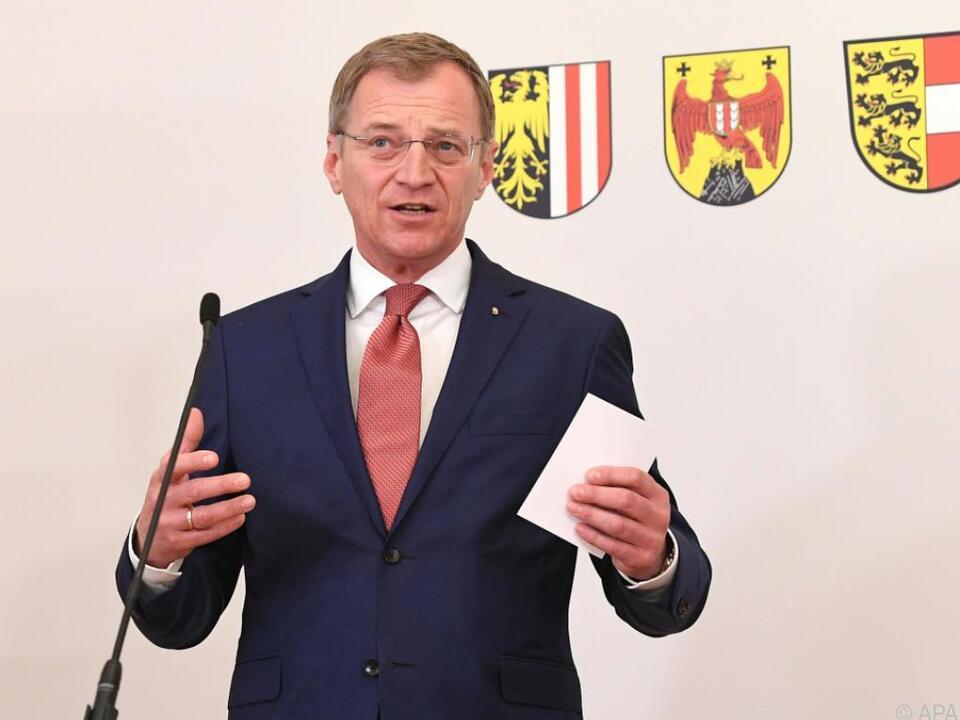 Oberösterreichischer LH Thomas Stelzer (ÖVP)