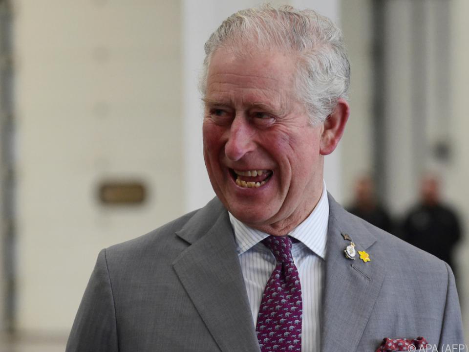 Prinz Charles setzt sich für Umweltschutz ein