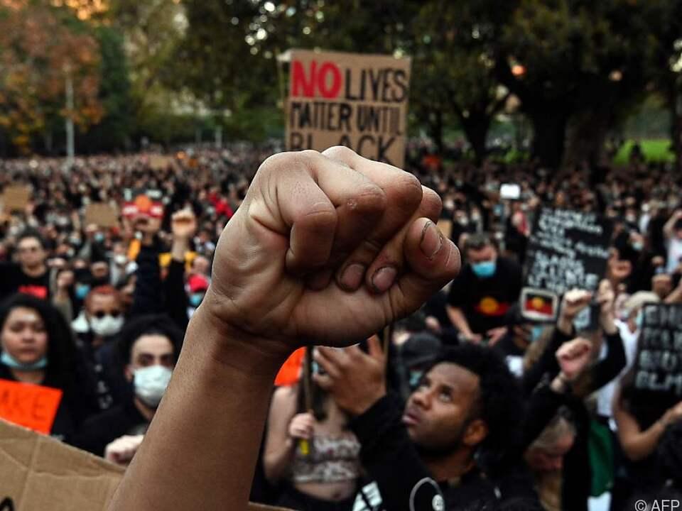 Proteste in Sydney