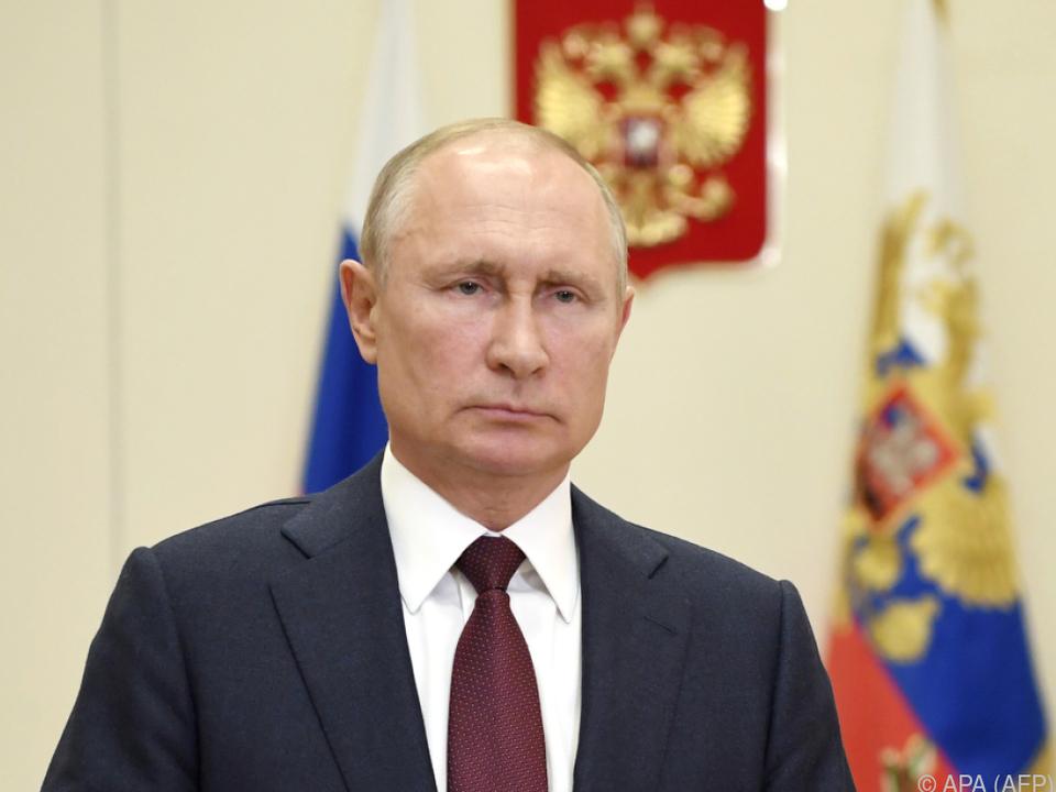 Putin stimmte dem Termin zu