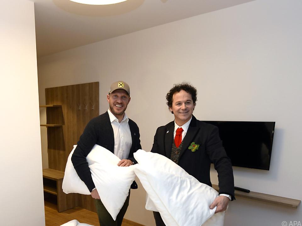Rainer Schönfelder ist auch Hotelier