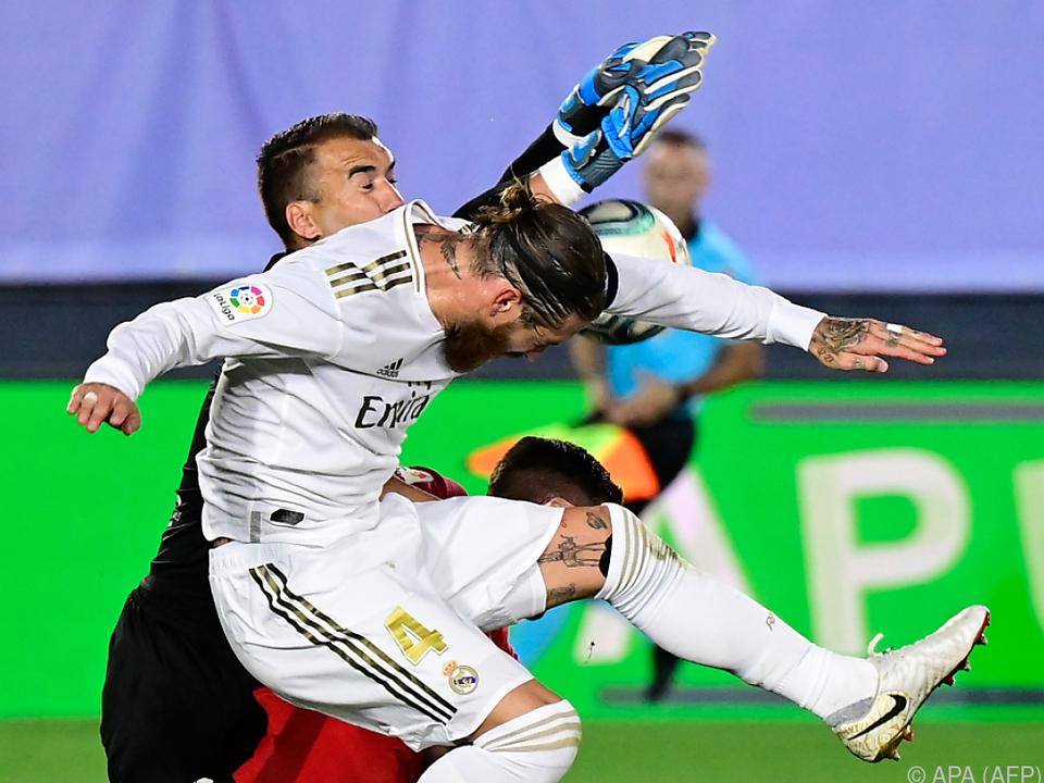 Ramos trug sich erneut in die Torschützenliste ein