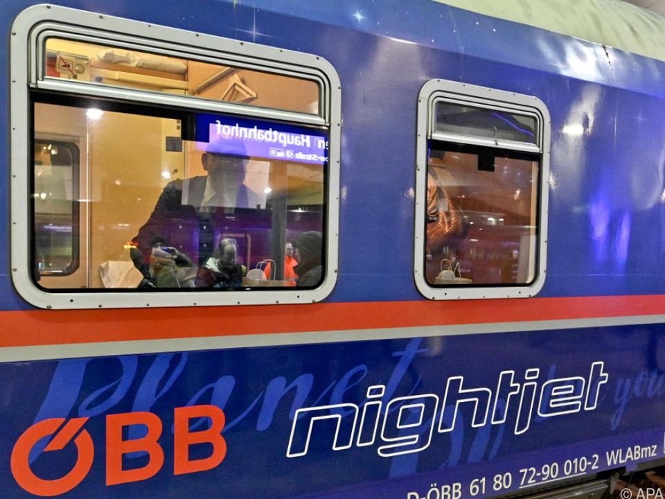 Reisen im Nachtzug können bequem sein