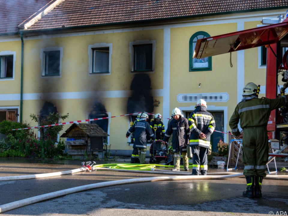 Rund 140 Feuerwehrleute standen im Einsatz