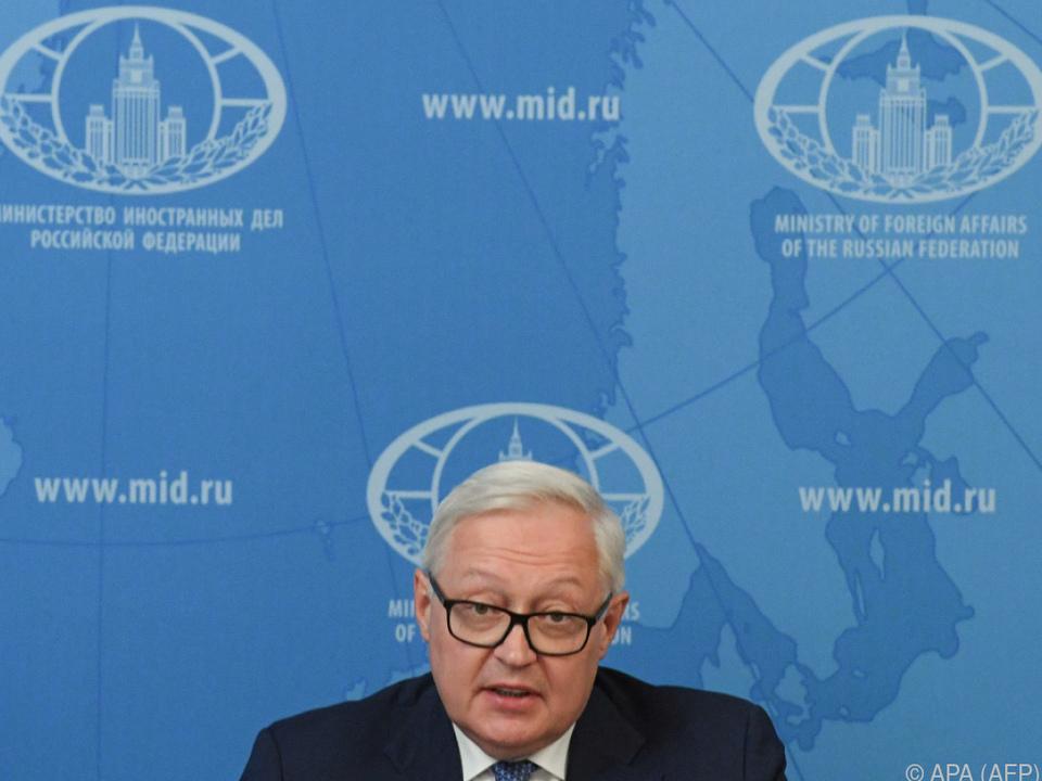 Russlands Vizeaußenminister Rjabkov nimmt teil