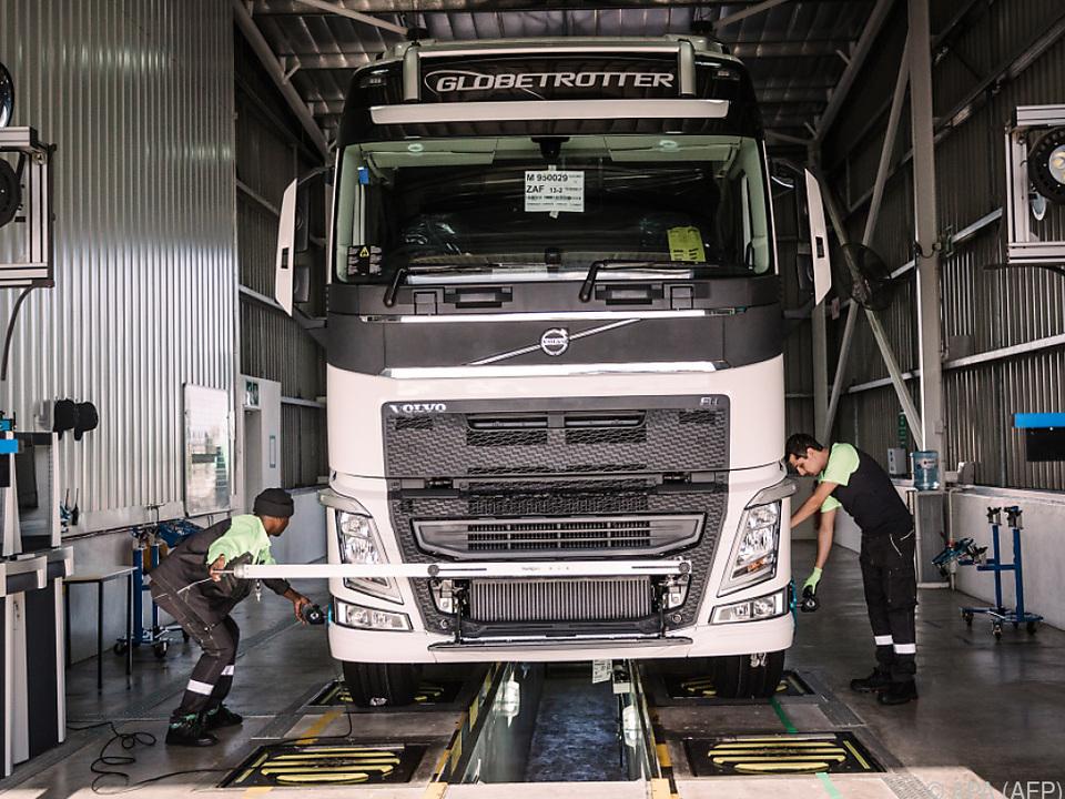 Schlechte Nachrichten gibt es bei Volvo