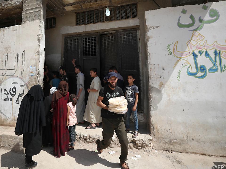 Schwere Zeiten in Syrien