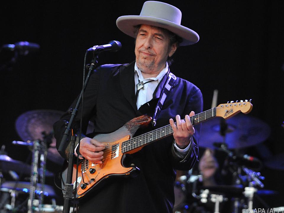 Seltenes Interview von US-Folk-Star Bob Dylan