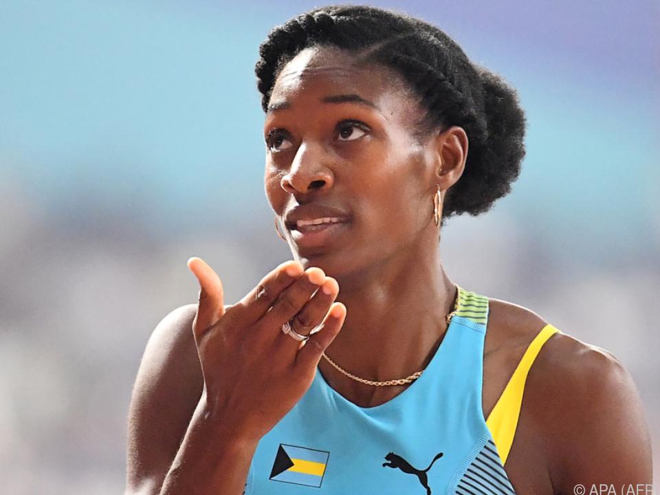 Shaunae Miller-Uibo läuft über 150 m