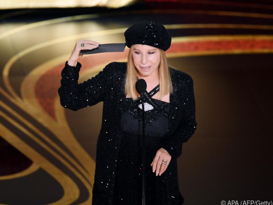 Show-Ikone Barbra Streisand