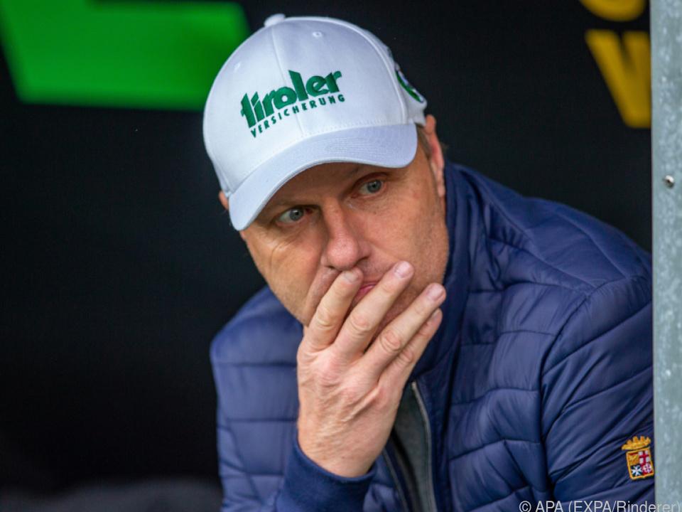 Silberberger fällt als Trainer - zumindest an der Seitenlinie - aus