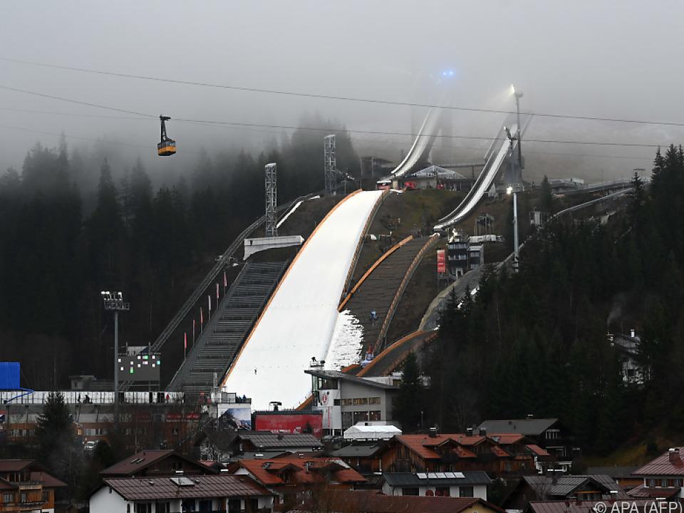 Skisprung-WM 2021 in Oberstdorf