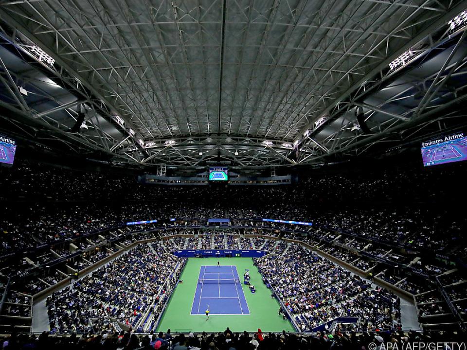So voll werden die Tennis-Arenen heuer wohl nicht sein