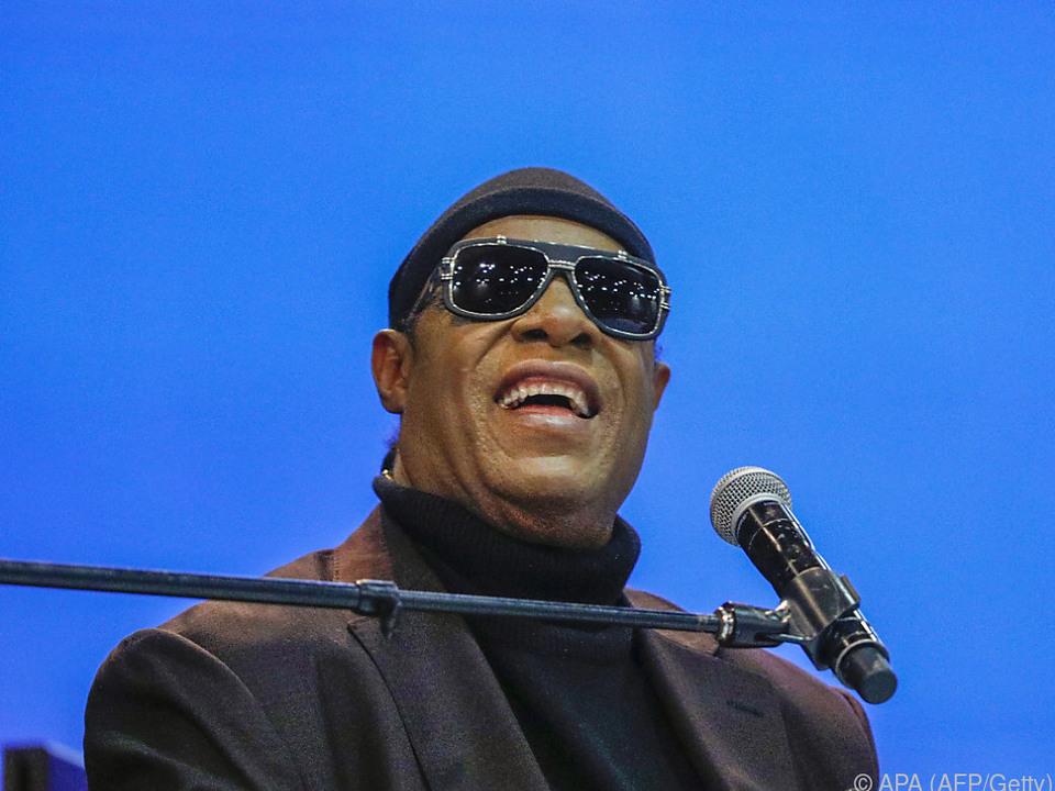 Stevie Wonder engagiert sich schon lange politisch