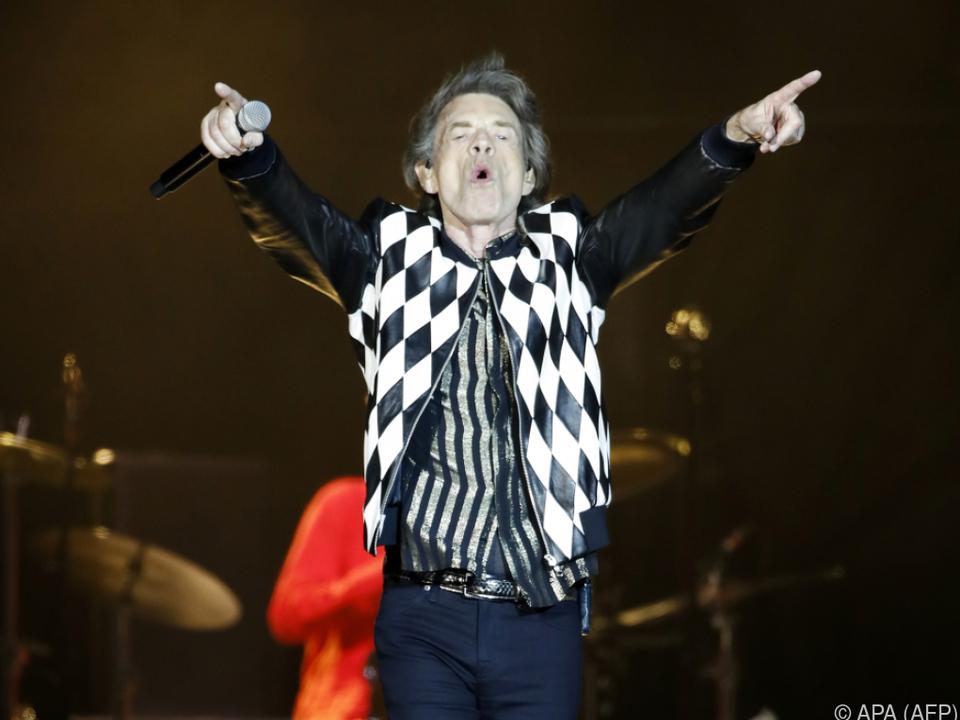 Stones-Frontman Mick Jagger keine großen Trump-Fans