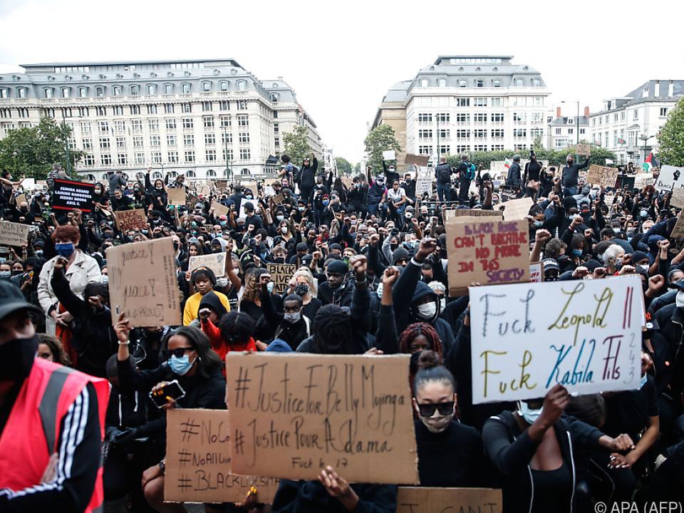 Tausende bei Anti-Rassismus-Demo in Brüssel