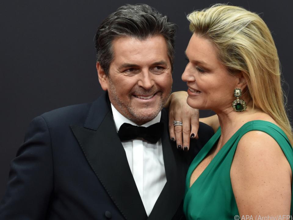 Thomas Anders mit seiner Frau Claudia