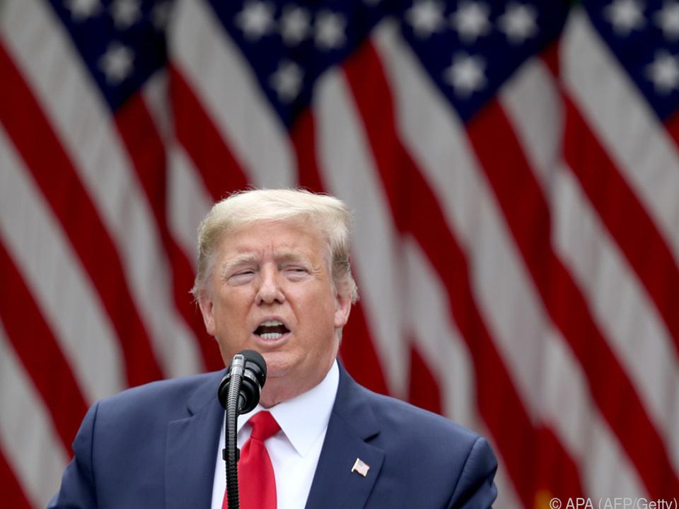 Trump sorgte mit Ankündigung für Aufregung