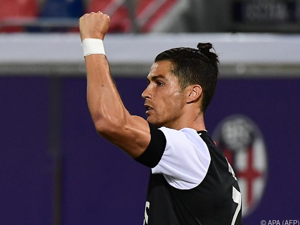 Und ewig trifft Ronaldo...