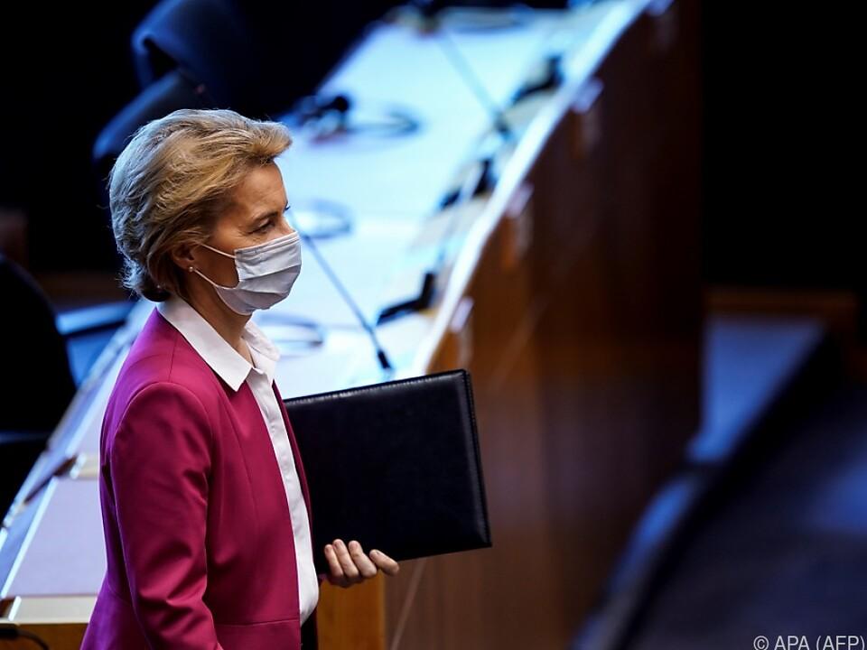 Ursula von der Leyen sagte 300 Millionen Euro von der EU zu