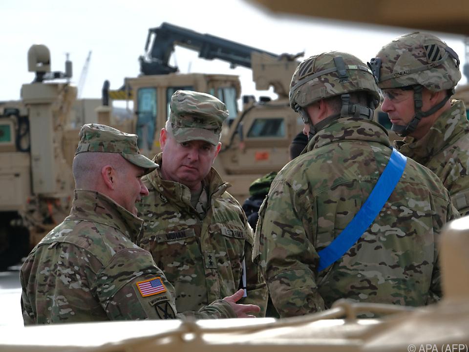 US-Soldaten in Bremerhaven