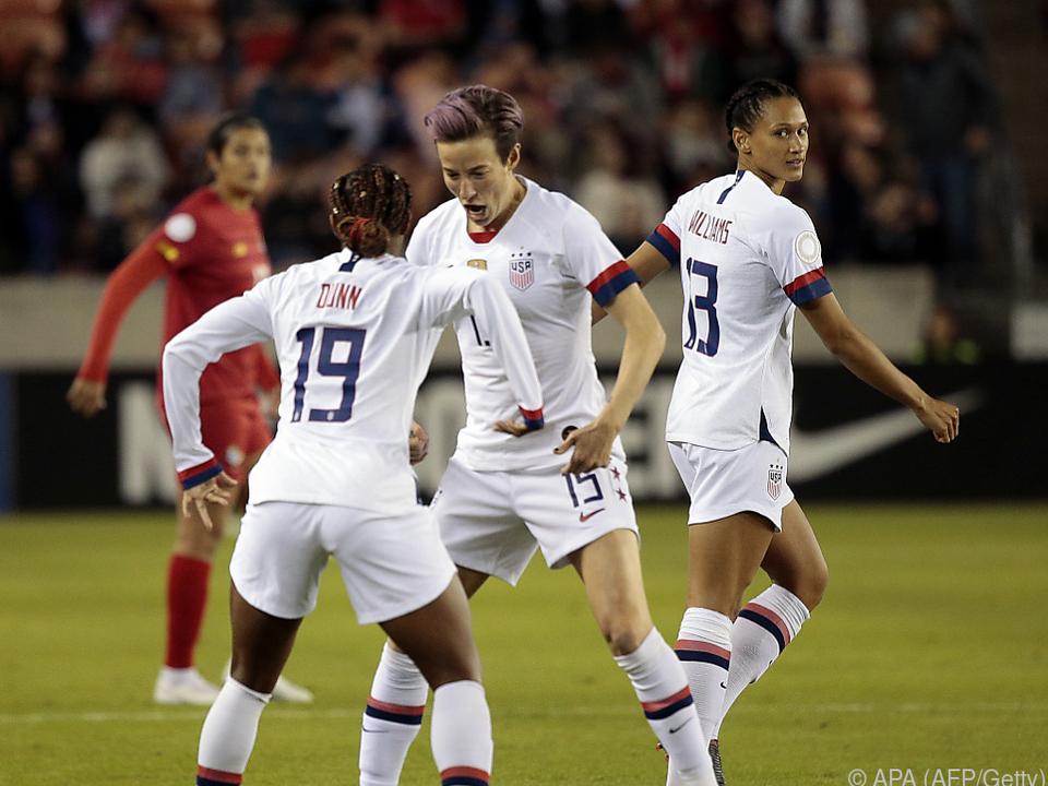 US-Weltmeisterinnen klagten eigenen Verband