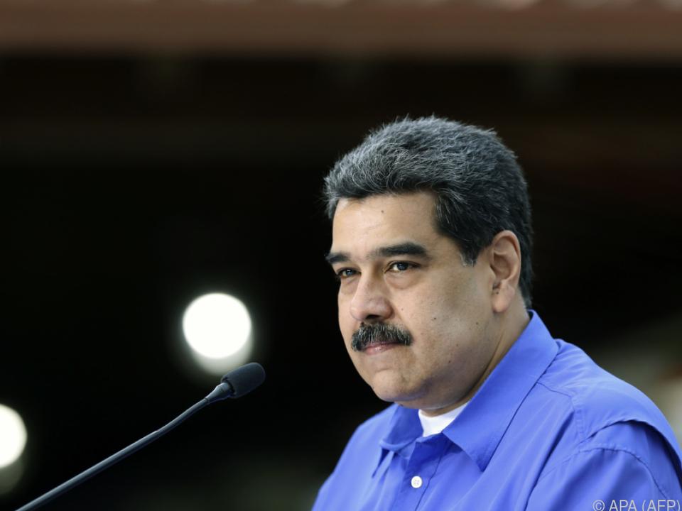 Venezuelas Staatschef Nicolás Maduro