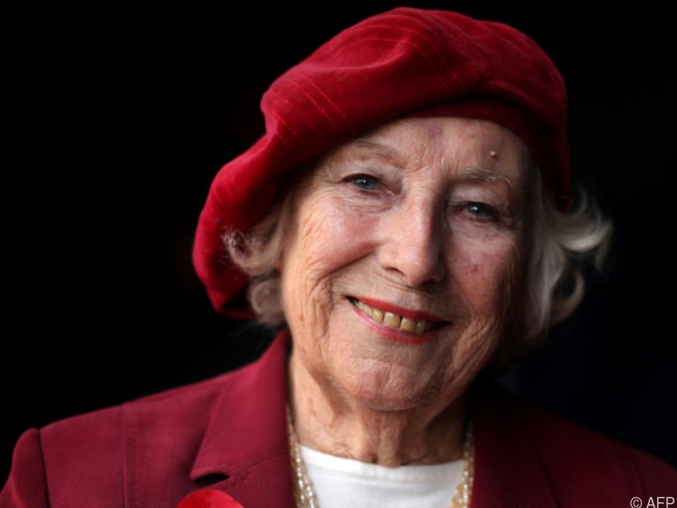 Vera Lynn war das Sweetheart britischer Soldaten im Zweiten Weltkrieg