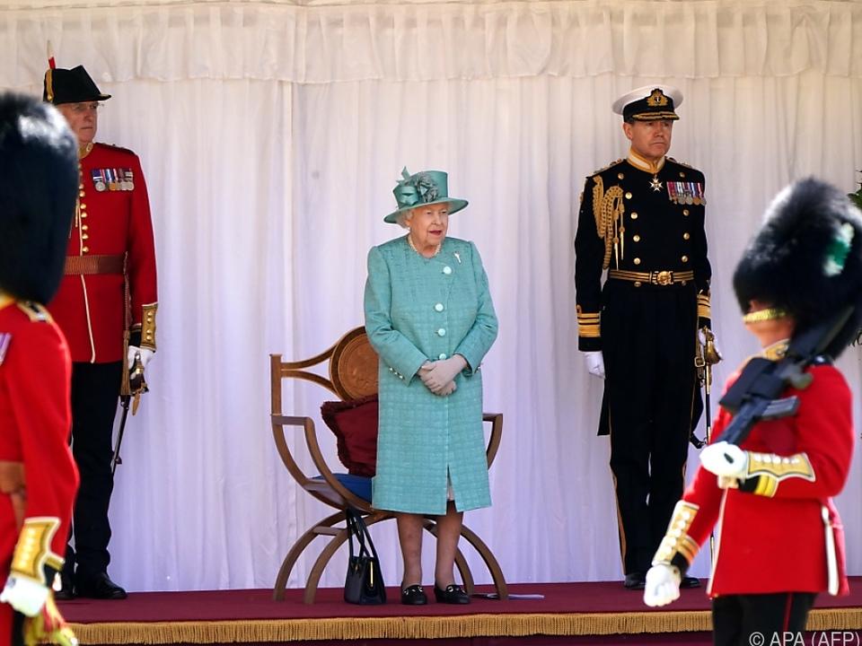 Vielleicht empfand es die Queen sogar als angenehm