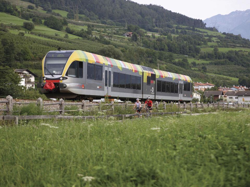 Vinschgerbahn (c) IDM Südtirol Altro Adige Alessandro Trovati