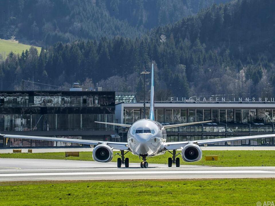 Von und nach Innsbruck kann wieder geflogen werden flughafen