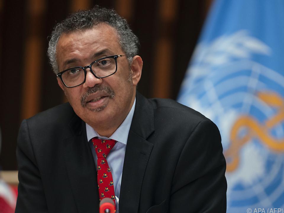 WHO-Chef Tedros Adhanom Ghebreyesus wird Nähe zu China nachgesagt