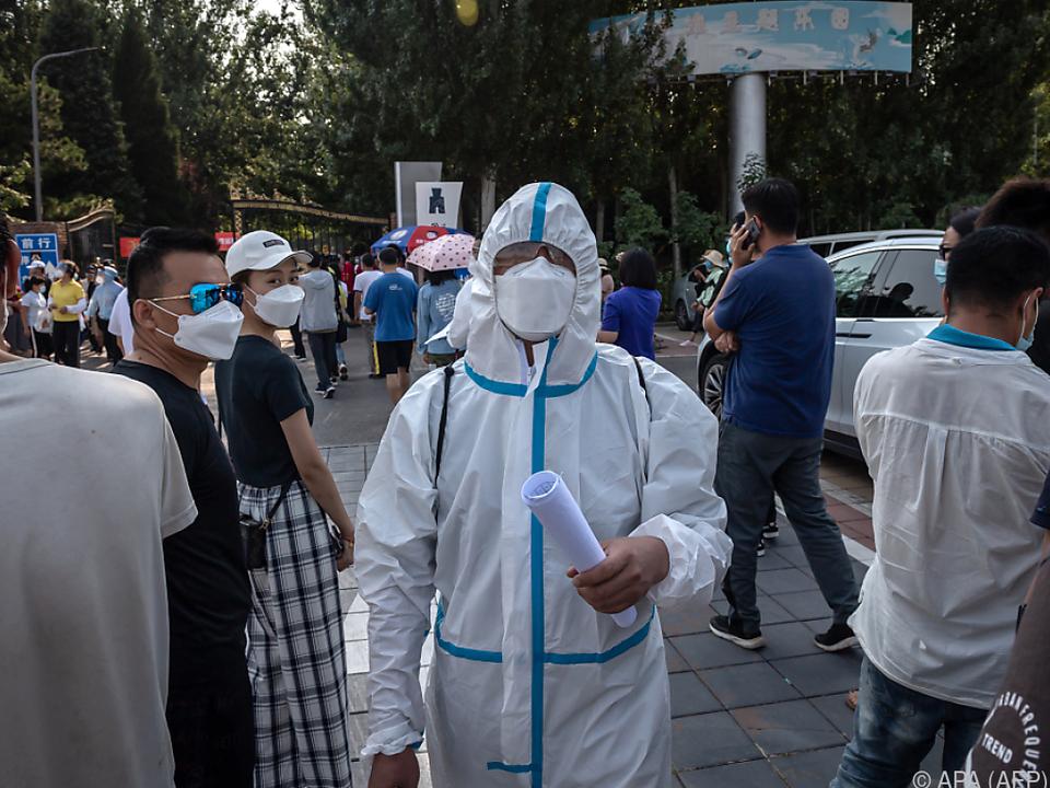 Zahl der Infizierten stieg in Peking auf fast 300 an