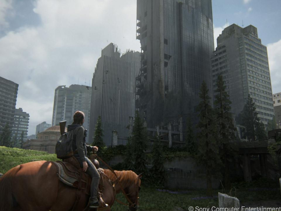 Der Spieler erkundet unter anderem die völlig zerstörte US-Metropole Seattle