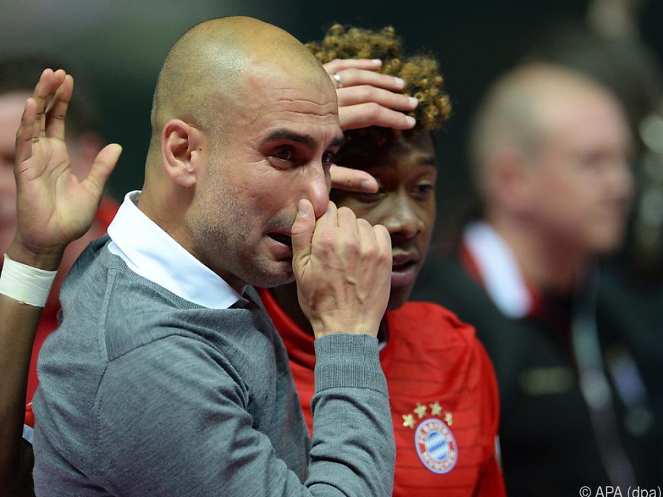 Alaba und Guardiola kennen sich von der gemeinsamen Zeit bei Bayern