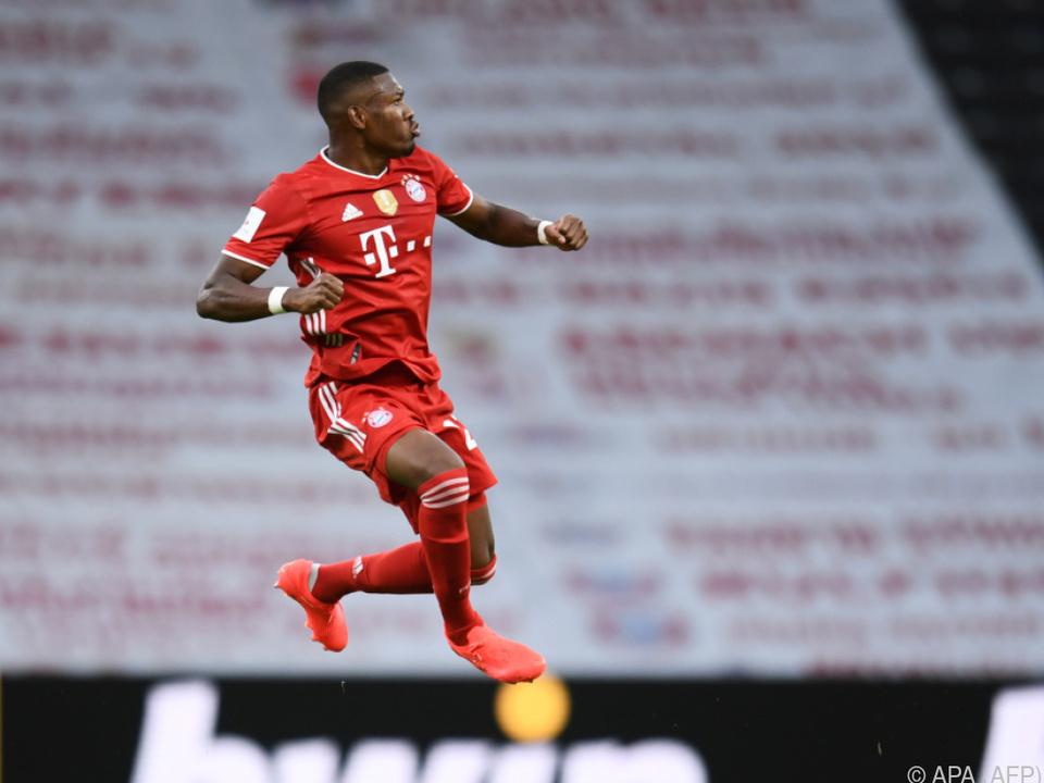 Alabas Fokus liegt auf der Champions League