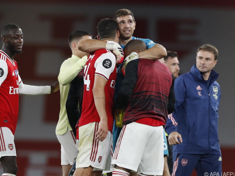 Arsenal schlug Liverpool 2:1
