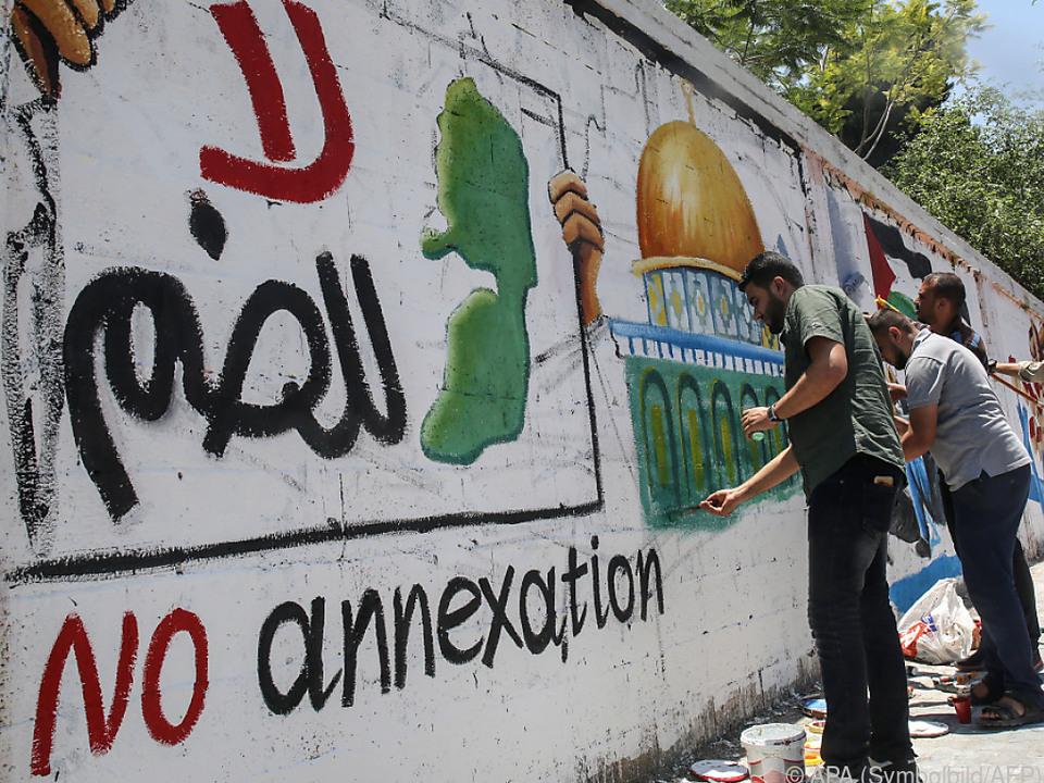 Auch eine Intifada wird in Betracht gezogen
