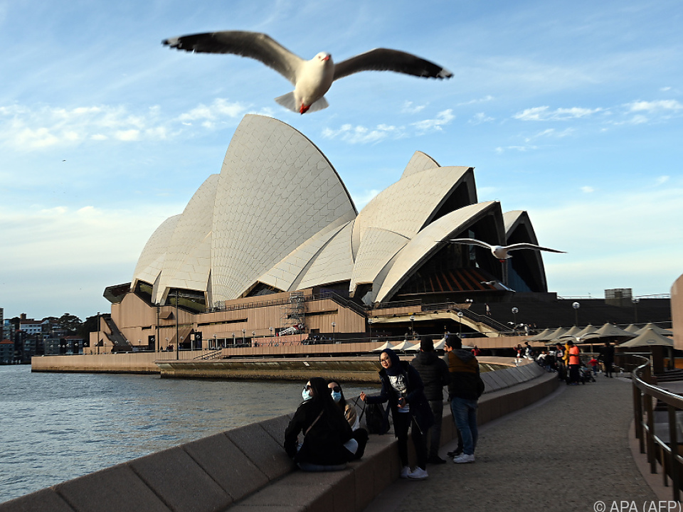 Australien verzeichnete bisher rund 14.000 Infektionen