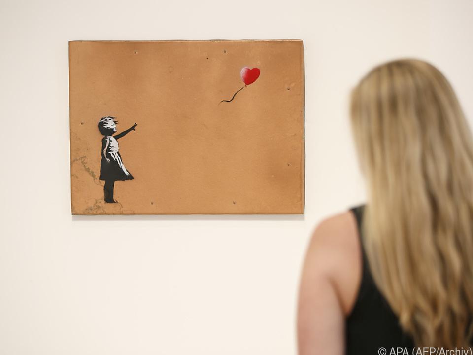 Banksy-Werk \
