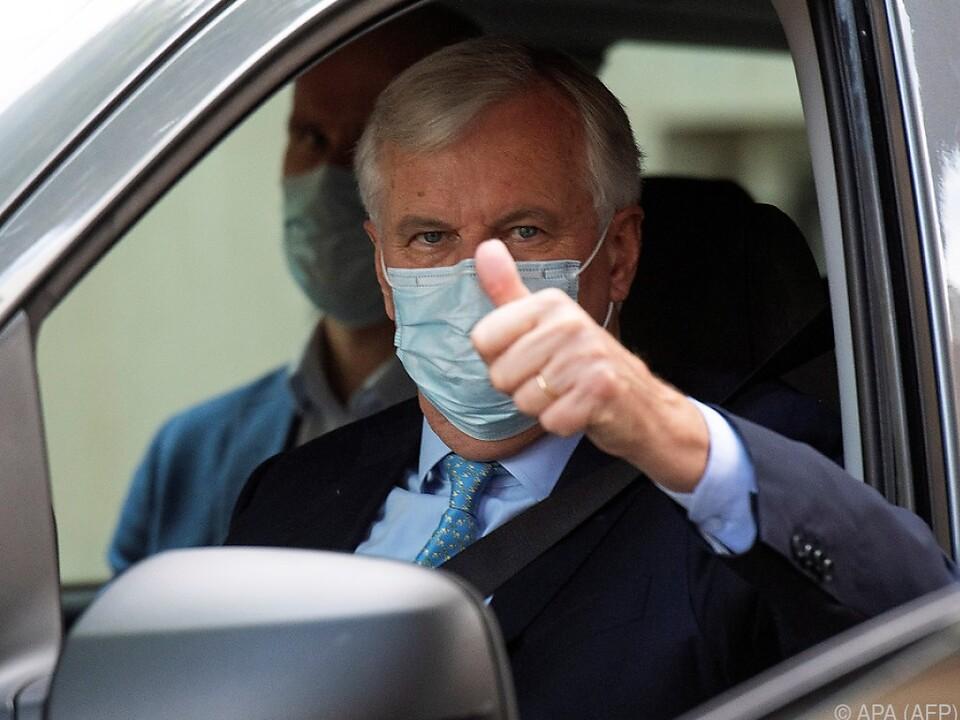 Barnier zeigte sich zuversichtlich
