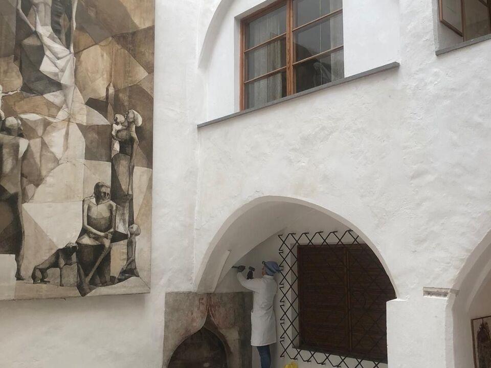 Bauforschung am Museum Eccel Kreuzer