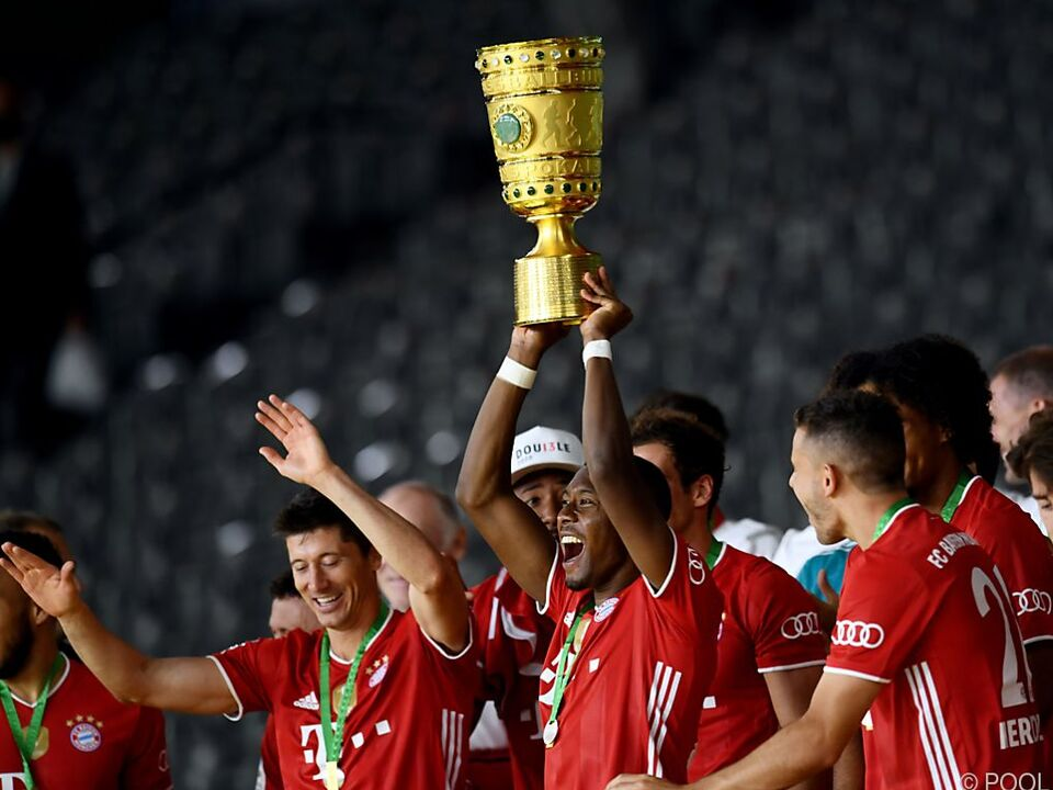 Bayern holen 20. Pokaltitel mit 4:2-Finalsieg gegen Bayer Leverkusen
