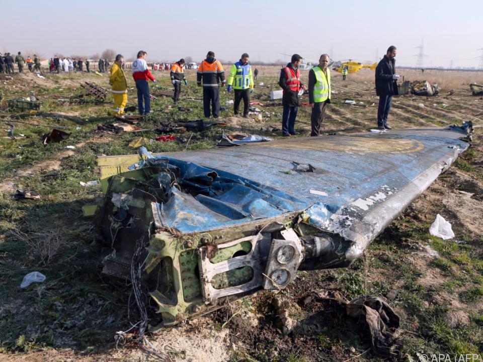 Iran: Abschuss von ukrainischem Flugzeug war ein menschlicher Fehler