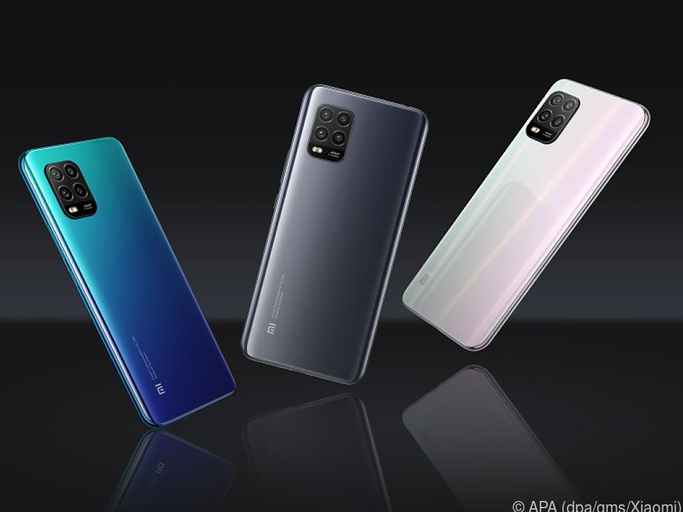 Das Xiaomi Mi 10 Lite 5G ist in Blau, Grau und Weiß ab 350 Euro zu haben