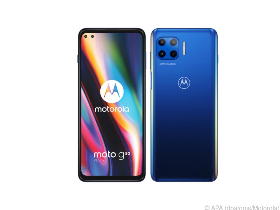 Motorola verkauft das Moto G 5G Plus ab 350 Euro