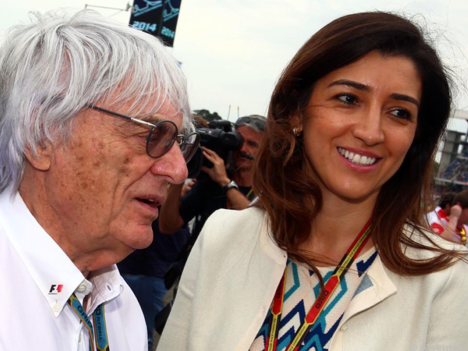 Bernie Ecclestone und seine Frau Fabiana Flosi wurden Eltern