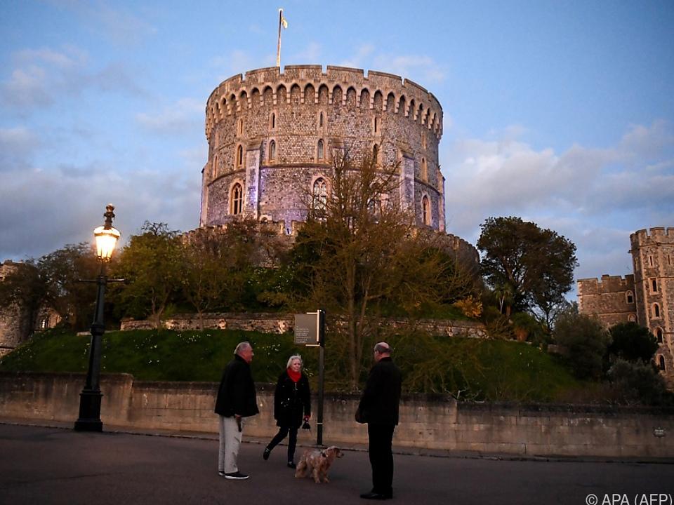 Besucher dürfen wieder ins Windsor Castle
