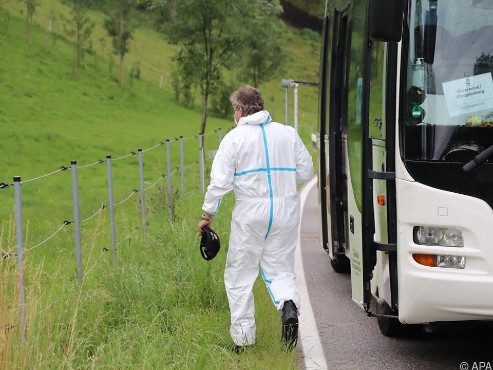 Bluttat in Linienbus vor anderen Fahrgästen